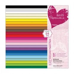 15 x 15 cm Papierblock Mehrfarbig