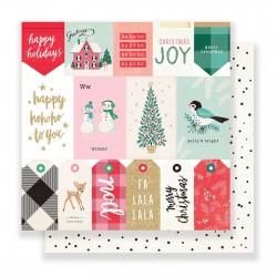 Crate paper Falala paper 30,5x30,5cm greetings