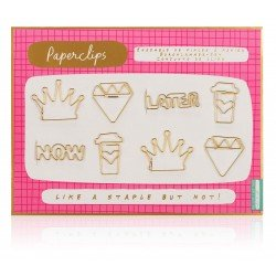 Notes To Self - Fancy Paper Clips 8Pcs