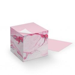 Notizzettel Block - Marmor