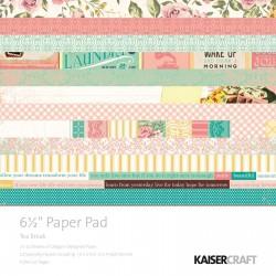 Kaisercraft tea break paper pad 16,5x16,5cm