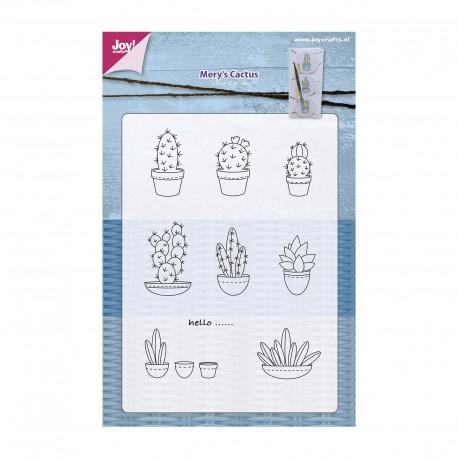 Joy!Crafts Silikonstempel - Kaktus
