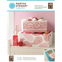Martha Stewart silkscreen floral paisley