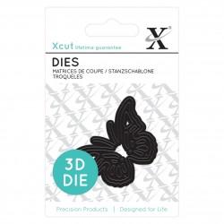 Mini-Stanzschablonen (1Stk) - 3D-Schmetterling