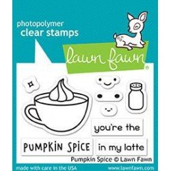 Pumpkin Spice Clear Stamps (LF1462)