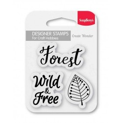 Set Of Clear Stamps - Forest (SCB4907100)