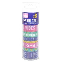 Watercolour Washi Tapes (FEWTT003)