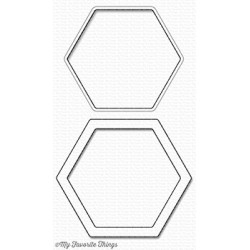 Die-Namics Hexagon Shaker Window & Frame (MFT-1147)