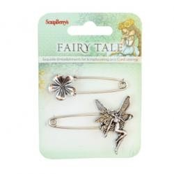 Metal Charms Set Fairy Tale 1 (SCB25002024)