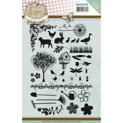 Clearstamp - Yvonne Creations - Spring-tastic