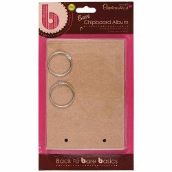 17 x 12cm Chipboard Album (6pcs) - Doorplate