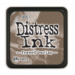 Tim Holtz distress mini ink frayed burlap