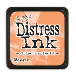 Tim Holtz distress mini ink dried marigold
