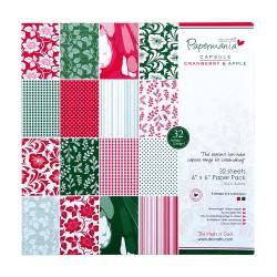 6 x 6 Paper Pack - Capsule (32Pk) Cranberry & Apple