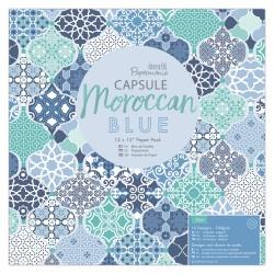 12 x 12 Paper Pack (32pk) - Capsule - Moroccan Blue