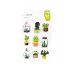 3D Sticker Kaktus