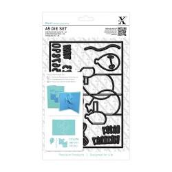 A5 Die Set (17pcs) - Pop Up Card Birthday