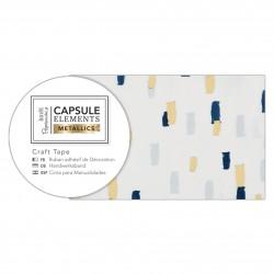 Bastelklebeband (3m) - Capsule Collection - Elements Metallic - Mehrfarbig