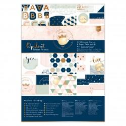 A4 Ultimativer Stanz- & Papierblock (48Bl) - Forever Friends - Opulent
