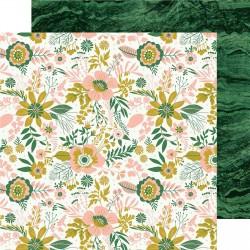 Kaisercraft paper 30,5x30,5cm Fleur hello