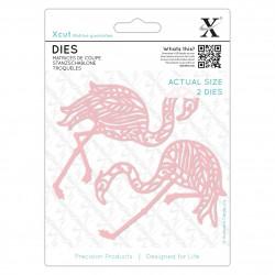 Stanzschablone (1Stk) - Tropischer Flamingo