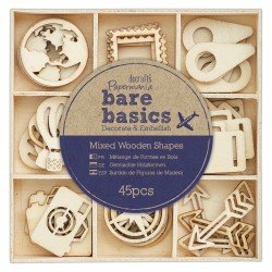 Holzformen (45Stk) - Bare Basics - Reisen