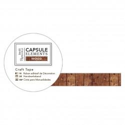 Bastelklebeband Holzverkleidungen (3m) - Capsule Collection - Elements Wood