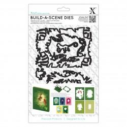 Stanzschablonen zur Bildgestaltung (7Stk) - Dschungel