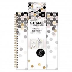A5 Notizbuch - Capsule Geometric Mono
