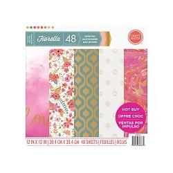 Fiorella 12x12 Inch Paper Pad