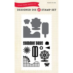 Echo Park Summer Days Designer Dies & Stamp Sets