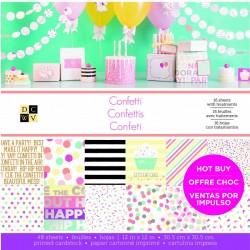 """Confetti - Paper Pad 12"""" x 12"""""""