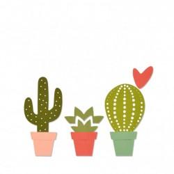 Sizzix Thinlits die set x6 cacti