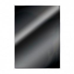 Tonic Studios mirror card gloss A4 x5 glossy black