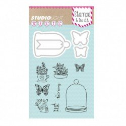 Studio Light stamp & die cut A6 Basics nr.07