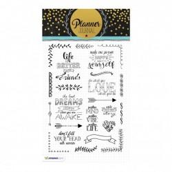 Studio Light clear stamp A5 planner journal nr.03