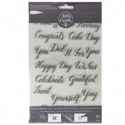Kelly Creates stamps celebration x22