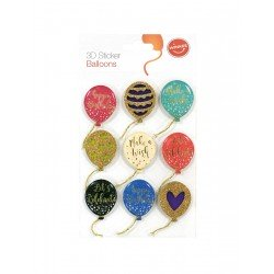 Dimensional Stickers - Balloons