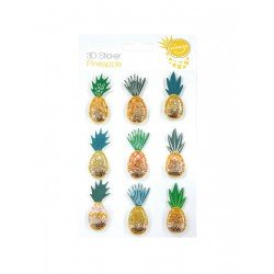 Dimensional Stickers - Pineapple