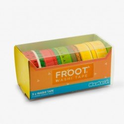 Froot Washi Klebeband 5er Set