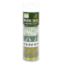 Kale Green Washi Tapes (FEWTT001)
