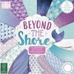 Beyond The Shore 8x8 Inch Paper Pad (FEPAD168)