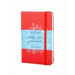 Moleskine Legendary Notebooks - daily life journal - rot