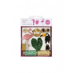 Wow Tag Kit Tag-50pcs rope-10y/ stamp-3pcs