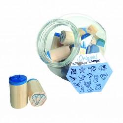 Stamp Jar Origami (85004)