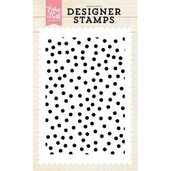 Confetti 4x6 Inch Clear Acrylic Designer Stamps