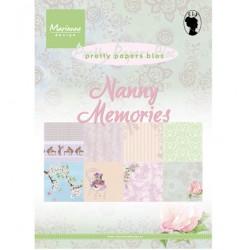 Marianne Design Block A5 - Nanny Memories
