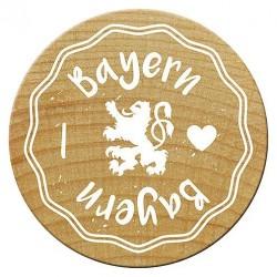 Woodies Stempel - I love Bayern