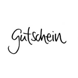 Happyhills Holzstempel - Gutschein-