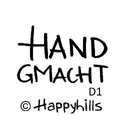 Happyhills Figurenkegel Gummistempel -